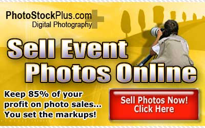Sell event photos online